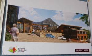 Architect's picture of what the building will look like