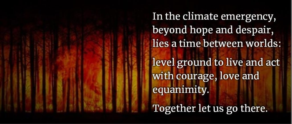 In the climate emergency ..