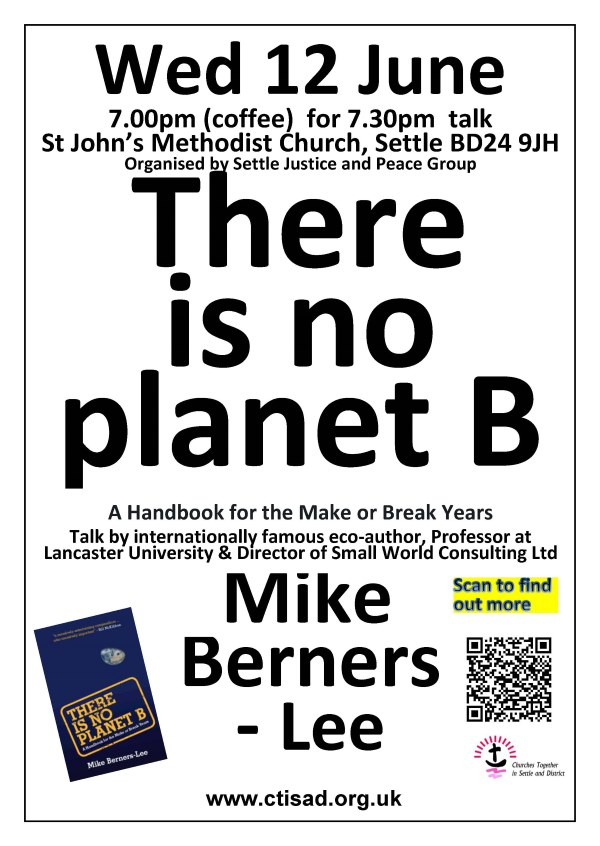 Poster for Berners-Lee talk at Settle